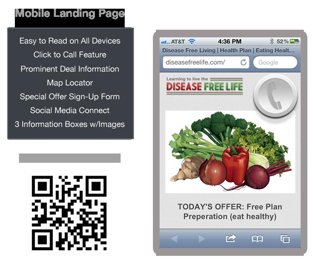 Mobile Landing Page