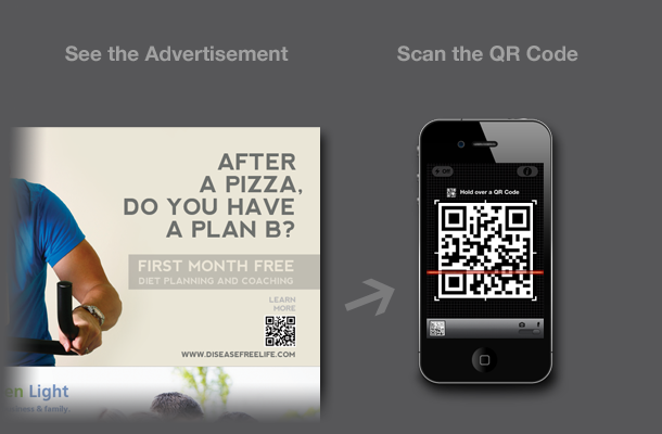QR Code to Mobile Landing Page